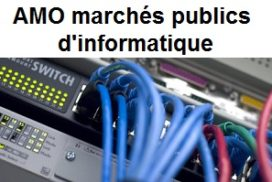AMO marchés publics d'informatique
